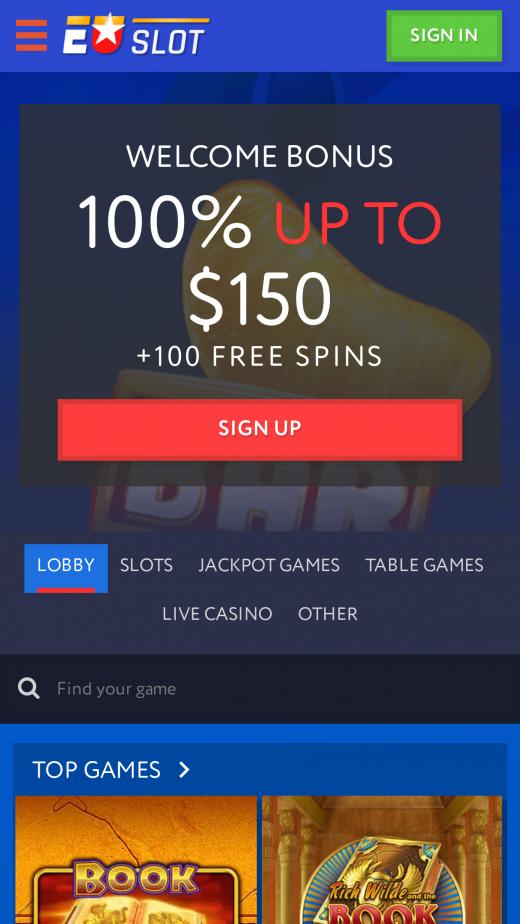 EuSlot казино